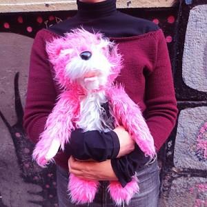 Peluche rosa de Breaking Bad, disponible en http://www.curiosite.es/ / Foto de: http://www.curiosite.es/