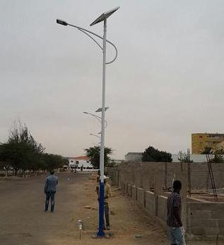 Nuestro proyecto de iluminación en Namibe, Angola
